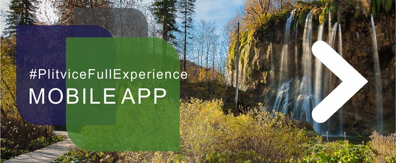 #PlitviceFullExperience Mobile App